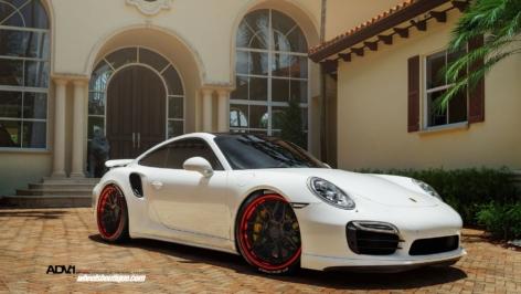 Porsche 991 Turbo S on ADV7 TS CS