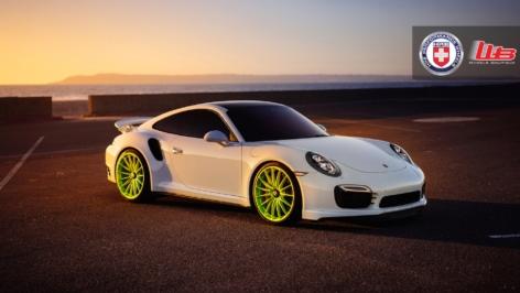 Porsche 991TTS on HRE P103