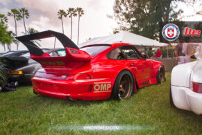 RWB Porsche 993 on HRE 305