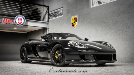 Porsche Carrera GT on HRE P101