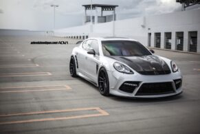 Porsche Panamera Turbo Mansory Widebody on ADV5.2 Track Spec SL