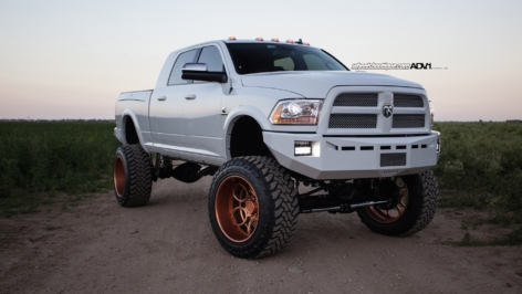RAM 2500 on ADV5|C Truck Spec HD Series