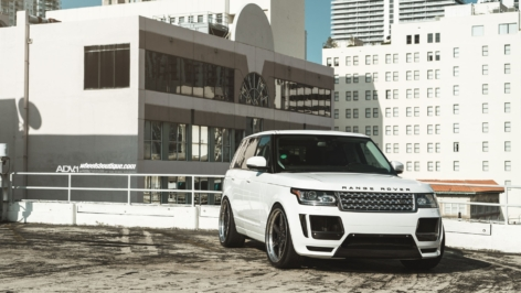 Range Rover HSE on ADV6 TF CS