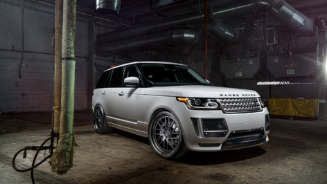 Range Rover HSE on ADV8R Track Function CS
