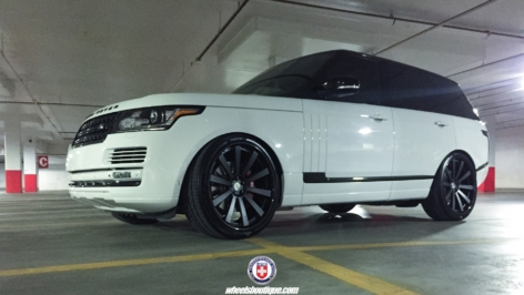 Range Rover HSE on HRE 943RL