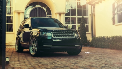 Range Rover on ADV06 Track Function CS