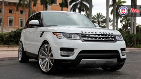 Range Rover Sport on HRE 943RL
