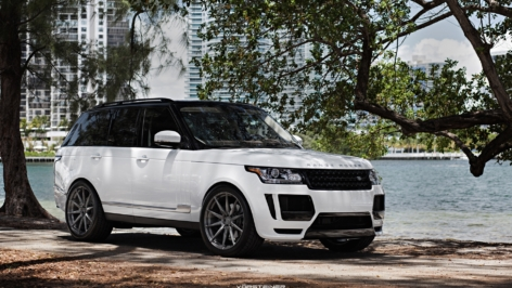 Range Rover Vorsteiner Veritas on ADV10 MV1 CS