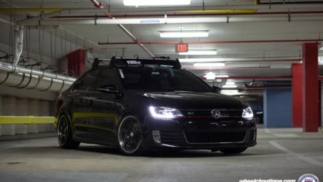Volkswagen Jetta GLI on HRE 595RS