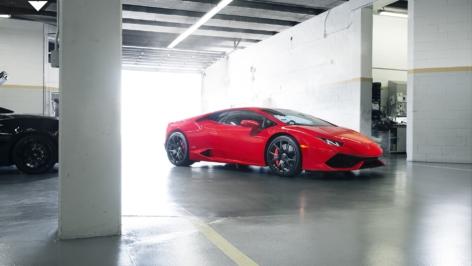 Vorsteiner Lamborghini Huracán in Rosso Mars