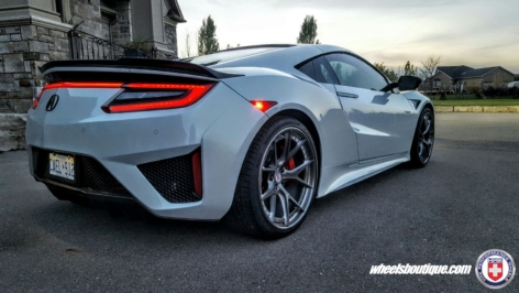 Acura NSX on HRE S101