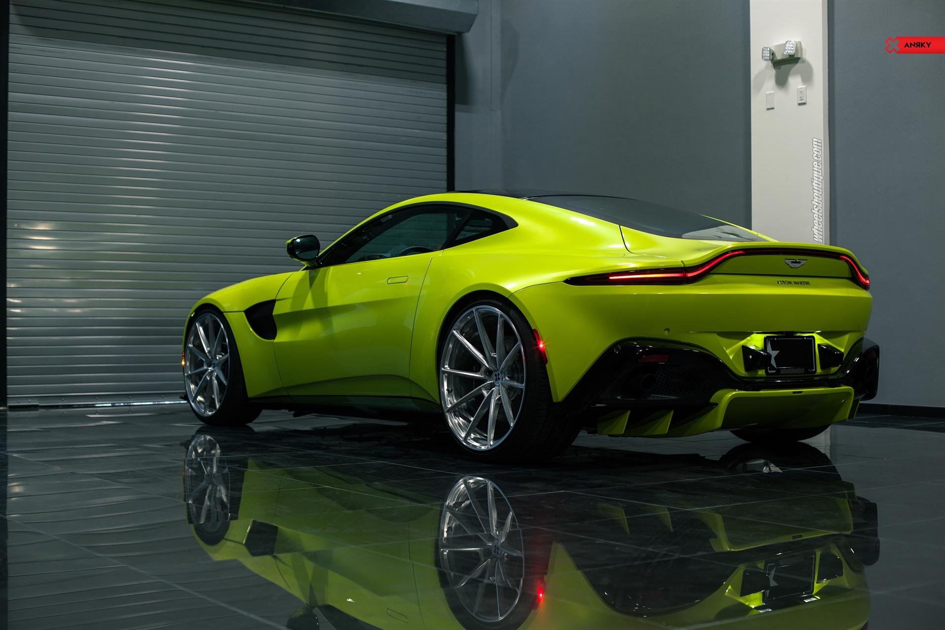 Aston Martin Vantage (2019) on ANRKY AN18 Gallery | Wheels ...