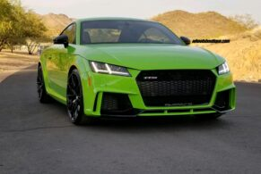 Audi TTRS on HRE P204