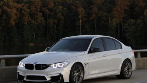 BMW F80 M3 on HRE R101 LW