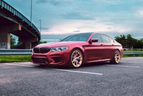 BMW F90 M5 on HRE S101