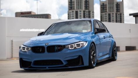 BMW M3 F80 on HRE S201