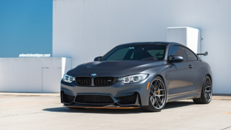 BMW M4 GTS on HRE R101 LW