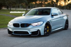BMW M4 on HRE P101