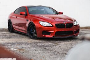 BMW M6 on HRE S107