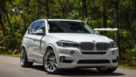 BMW X5 Hybrid on HRE S204