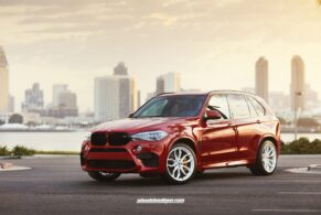 BMW X5M on HRE P201