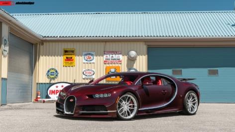 Bugatti Chiron on ANRKY AN11
