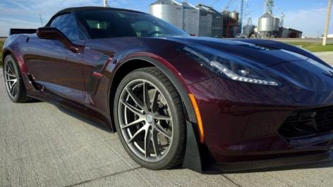 Chevrolet Corvette C7 Grand Sport on HRE P104