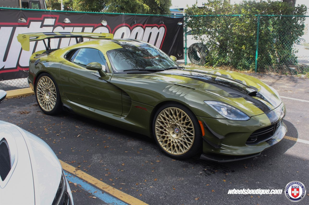 Dodge Viper ACR on HRE 501M Gallery   Wheels Boutique