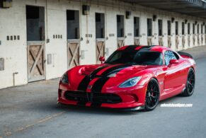 Dodge Viper GTS on HRE R101 Light Weight
