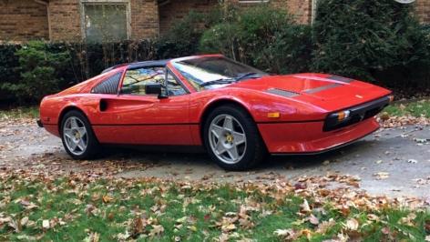 Ferrari 308 on HRE 505M