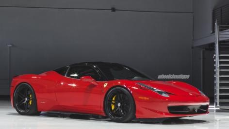 Ferrari 458 Italia on HRE P107