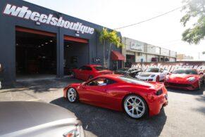 Ferrari 458 on HRE S101