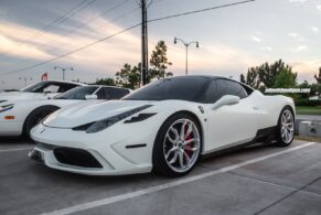 Ferrari 458 Speciale on HRE P201