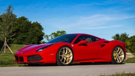 Ferrari 488 GTB on HRE P101