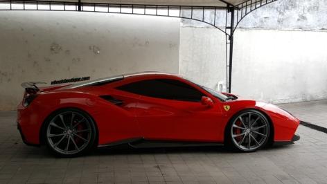 Ferrari 488 GTB on HRE P204