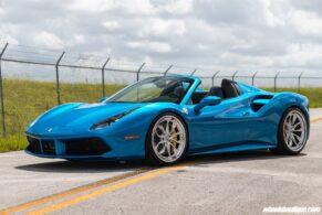 Ferrari 488 Spider on HRE S201