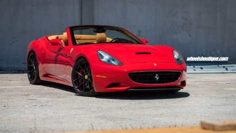 Ferrari California on HRE P101