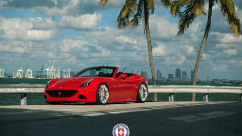 Ferrari California T on HRE S200