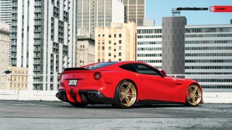 Ferrari F12 on ANRKY AN27