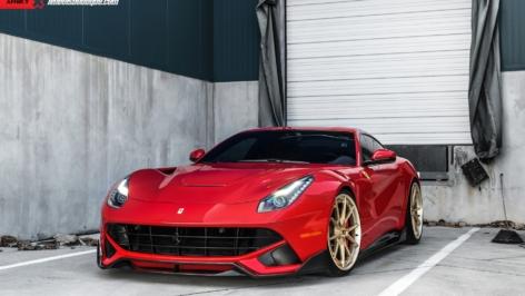 Ferrari F12 on ANRKY AN32