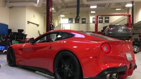 Ferrari F12 on HRE P107