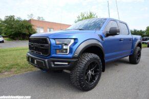 Ford Raptor on HRE P161 – Satin Black
