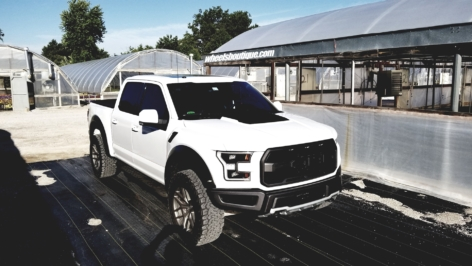 Ford Raptor on HRE P161 – Satin Charcoal