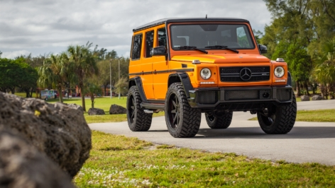 Mercedes G63 AMG on ADV08 S. Function
