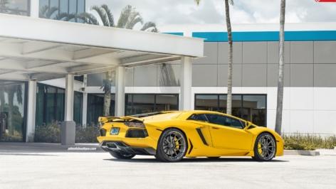 Lamborghini Aventador on ANRKY AN28