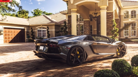 Lamborghini Aventador on ANRKY AN35