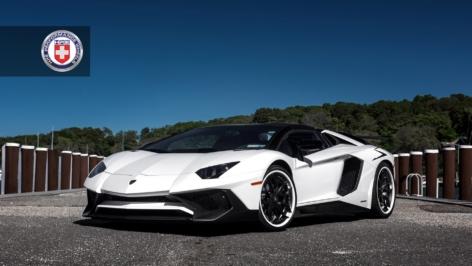 Lamborghini Aventador on HRE S201