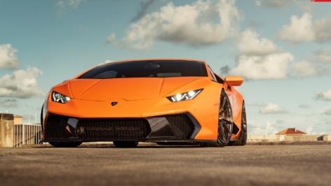 Lamborghini Huracan on ANRKY Wheels AN13