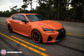 Lexus GS-F on HRE S204