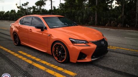 Lexus GS-F on HRE S204